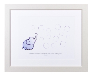 Elephant Bubbles - Great for baby showers and christenings
